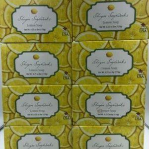 Other - 8 Bars Shugar Soapworks HUGE 6.25 oz bar soap Lemo